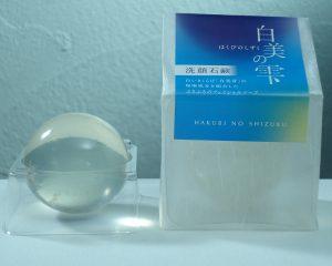 白美の雫(洗顔石鹸)通常サイズ100g