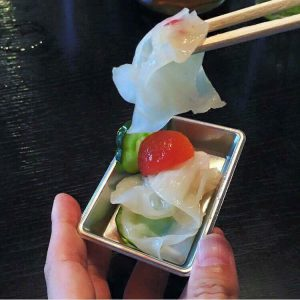 白いきくらげ「白美茸」料理(マリネ)