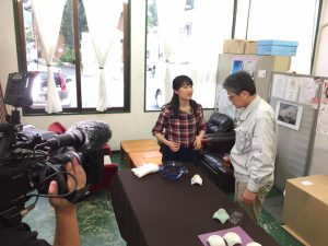 NHK佐賀取材(ひるまえ情報便)