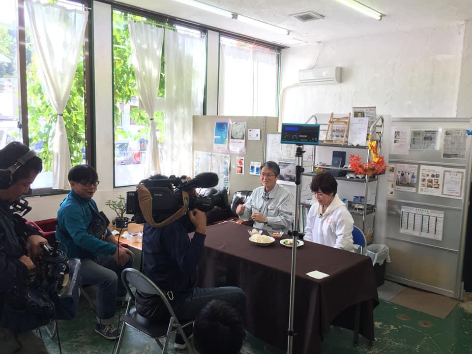 テレビ取材(RKB)